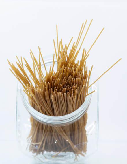 Spaguetti de trigo integral