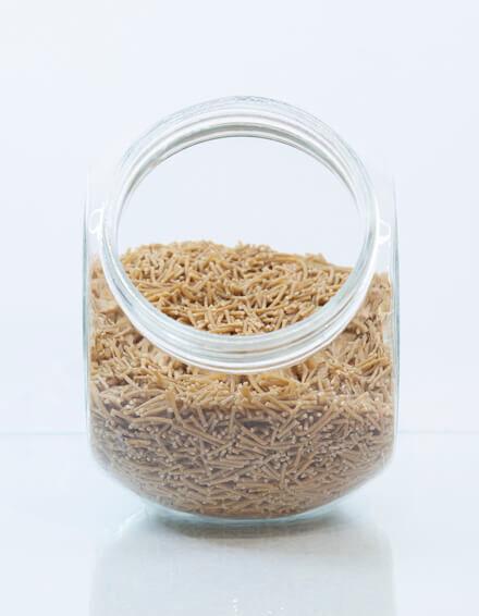 Fideos de trigo integral del nº2