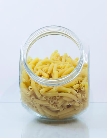 Macarrones de maíz y arroz