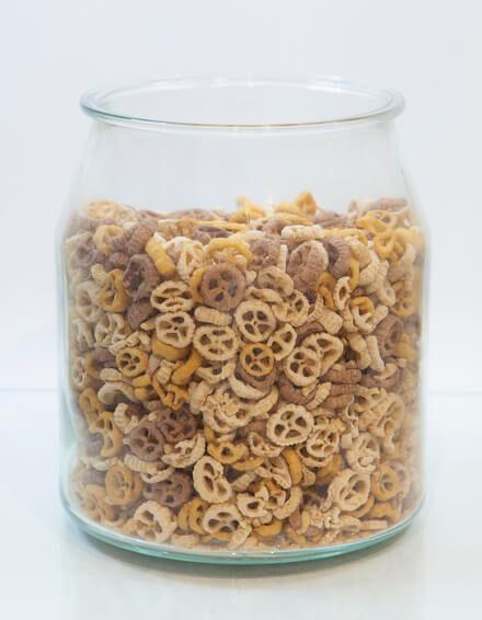 Cereales ruedas de arroz y quinoa